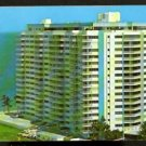 BIRDS EYE VIEW COMMODORE CONDOMINIUM APARTMENTS FORT LAUDERDALE FLORIDA 1960 POST CARD