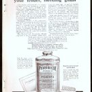 1918 PYORRHOCIDE POWDER AD USE THIS FOR YOUR TENDER BLEEDING GUMS