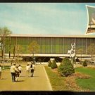 1965 POSTCARD UNITED STATES PAVILION NEW YORK WORLDS FAIR