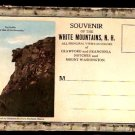 ca 1915 WHITE MOUNTAINS NH SOUVENIR FOLDER WITH 22 VIEWS