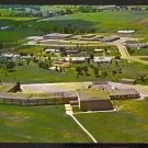 POSTCARD BIRDS EYE VIEW RICE LAKE HIGH SCHOOL WISCONSIN