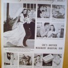 1949 AD WOODBURY FACIAL SOAP BEWITCHING BRIDE BEWITCHING SOAP