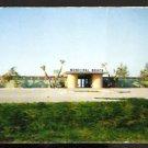 ca 1960 POSTCARD BEACH ENTRANCE BATH HOUSE ST PETERSBURG FLORIDA