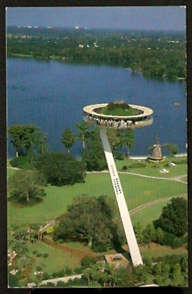 BIRDS EYE VIEW KODAK TOWER CYPRESS GARDENS FLORIDA