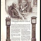 1918 AD WALTHAM GRANDFATHER CLOCK