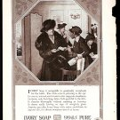 1918 AD IVORY SOAP W/ SOCIETY LADY & BLACK MAID