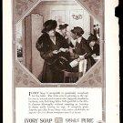 1918 AD IVORY SOAP W/ SOCIETY LADY & BLACK MAID