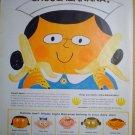 1958 FULL PAGE AD DUPONT PAINTS + UNITED FRUIT COMPANY CHOOSABANANA