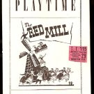 1947 PLAYBILL THE RED MILL SHUBERT THEATRE BOSTON JACK ALBERTSON + TICKET STUB