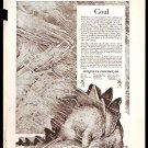 1918 AD HERCULES POWDER CO WITH DINOSAUR