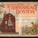 1916/30 HISTORICAL BOSTON MA SOUVENIR FOLDER