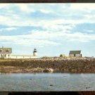 Ca 1969 GOAT ISLAND LIGHT LIGHTHOUSE CAPE PORPOISE KENNEBUNKPORT MAINE 746