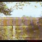 Ca 1960s OLD COVERED BRIDGE SWANZEY NEW HAMPSHIRE 751