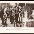 WORLD WAR 1 WW1 GEOGRAPHIC PHOTO DOUGHBOYS RED CROSS CANTEEN + RECREATION HUT