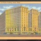 Ca 1930 HOTEL STATLER & STATLER BUILDING BOSTON MA. 775