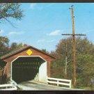 Ca 1960 SILK ROAD COVERED BRIDGE NORTH BENNINGTON VERMONT 778