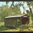 Ca 1960 OLD COVERED BRIDGE ROUTE 14 SOUTH RANDOLPH VERMONT 784