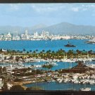 Ca 1960 SAN DIEGO CA HARBOR & SHELTER ISLAND 783