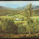 Ca 1960 BIRDS EYE VIEW PLYMOUTH VERMONT VT ROUTE 100A CALVIN COOLIDGE BIRTHPLACE 793