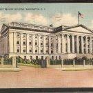 UNITED STATES TREASURY BUILDING WASHINGTON D.C. 1945 LINEN 810