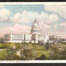 1915 WEST FRONT U.S. CAPITOL BUILDING WASHINGTON D.C. 821