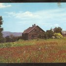 ABANDONED MOUNTAIN TOP HOME IN A SUMMER FIELD OF WILDFLOWERS 836