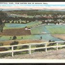 1915/30 VIEW OF GREENFIELD MA FROM MOHAWK TRAIL 864