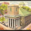 KINGS CHAPEL TREMONT STREET BOSTON MA LINEN 866
