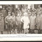 1918 NATGEO PHOTOS WW1 DOUGHBOYS RED CROSS COOK FRENCH GOVERNOR