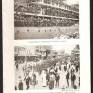 BRITISH TROOPS MARCHING IN DURBAN ON PACKED TROOPSHIP +