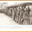 1918 NATGEO PHOTO RUSSIAN PRISONERS IN GERMAN POW CAMP + RUSSIAN PEASANTS