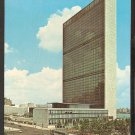 1964 UNITED NATIONS BUILDING NEW YORK CITY CLASSIC AUTOS CITY BUS 909