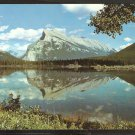 SPLENDID VIEW OF MOUNT RUNDLE & VERMILLION LAKE CANADIAN ROCKIES 922