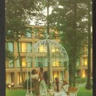 COUPLES LOUNGING GAZEBO AT TWILIGHT RYE TOWN HILTON RYE BROOK NEW YORK 927