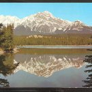 POSTCARD PYRAMID MOUNTAIN JASPER CANADIAN ROCKIES 939