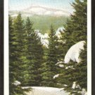 POSTCARD CAMELS HUMP IN WINTER WATERBURY GREEN MOUNTAINS VERMONT 941