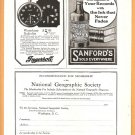 Original 1918 ADS GUARANTY TRUST COMPANY OF NEW YORK INGERSOLL WATCH SANFORDS INK