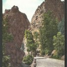 Pillars of Hercules South Cheyenne Canyon Colorado Springs Colorado Postcard 1010