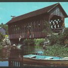 Covered Bridge Boys Swimming Blackwater River Andover New Hampshire Routes 4 4a 1021