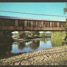 Covered Bridge The Smith Bridge Plymouth New Hampshire 1036