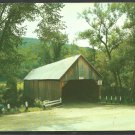 Old Covered Bridge Woodstock Vermont with Vintage Auto 1055