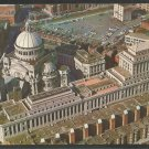 Birds Eye View First Church of Christ Scientist Boston MA Chrome Postcard 55
