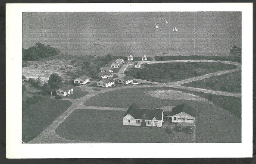 Wonder View Cottages Belfast Maine Penobscot Bay 1930s Sailboats Autos 137
