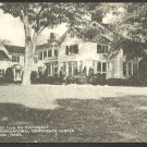 Framingham MA Main House Congregational Conference Center Postcard