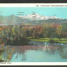 Pikes Peak From Monument Valley Park Colorado Springs White Border Postcard 1139
