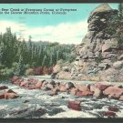 Bear Creek Evergreen Corners Denver Colorado Postcard 1155