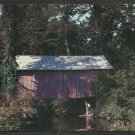 Old Covered Bridge South Randolph Vermont Chrome Postcard 1168