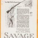 1919 Ads Savage Rifle Pistol Gun w/ Hunter Your Rifle Will Be Ready Soon + Waltham Watch