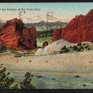 Gateway of the Garden of the Gods Colorado 1920 Postcard 277
