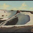 Fall River Pass Trail Ridge Road Rocky Mountain National Park Colorado Linen Postcard 1188